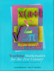Cover of: Teaching mathematics for the 21st century