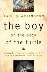 Cover of: The boy on the back of the turtle