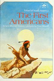Cover of: The first Americans: tribes of North America