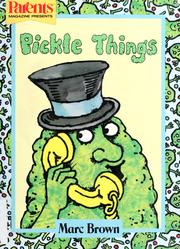 Cover of: Pickle Things