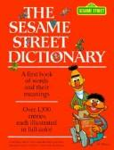Cover of: The Sesame Street dictionary