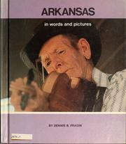 Cover of: Arkansas in words and pictures