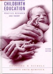 Cover of: Childbirth education