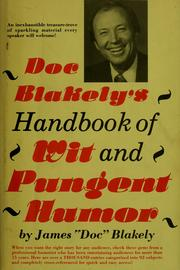 Cover of: Handbook of wit and pungent humor