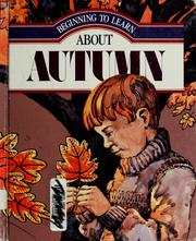 Cover of: Autumn