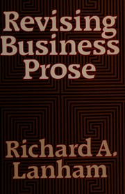 Cover of: Revising business prose