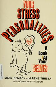 Cover of: Your stress personalities