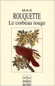 Cover of: Le corbeau rouge
