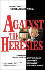 Cover of: Against the heresies