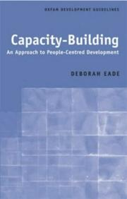 Cover of: Capacity-building
