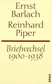 Cover of: Briefwechsel, 1900-1938
