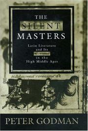 Cover of: The silent masters