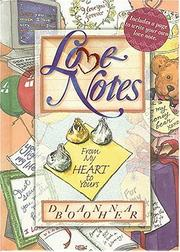 Cover of: Love notes from my heart to yours