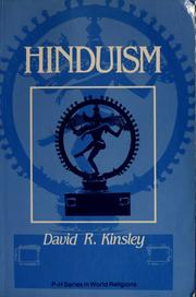 Cover of: Hinduism, a cultural perspective