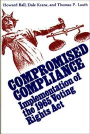 Cover of: Compromised compliance