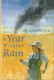 Cover of: A year without rain