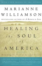Cover of: Healing the soul of America: reclaiming our voices as spiritual citizens