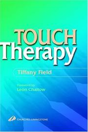 Cover of: Touch therapy