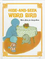 Cover of: Hide-and-seek Word Bird