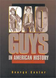 Cover of: Bad guys in American history