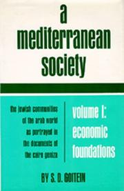 Cover of: A Mediterranean society