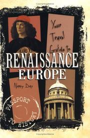 Cover of: Your travel guide to Renaissance Europe