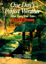 Cover of: One day's perfect weather