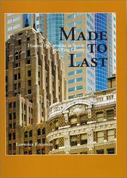 Cover of: Made to last