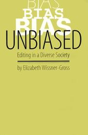 Cover of: Unbiased editing in a diverse society