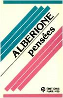 Cover of: Pensées