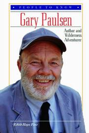 Cover of: Gary Paulsen: author and wilderness adventurer