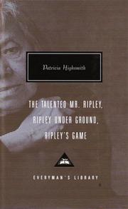 Cover of: The Talented Mr. Ripley (Ripley #1)