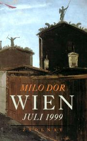 Cover of: Wien, Juli 1999