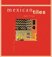Cover of: Mexican tiles