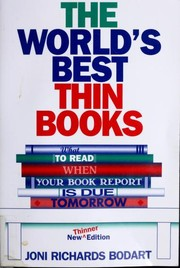 Cover of: The world's best thin books: what to read when your book report is due tomorrow