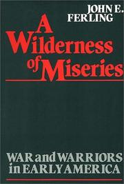 Cover of: A wilderness of miseries