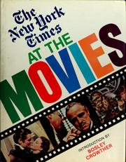 Cover of: The New York times at the movies