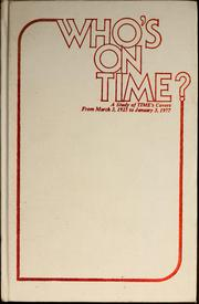 Cover of: Who's on Time?