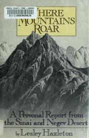 Cover of: Where mountains roar