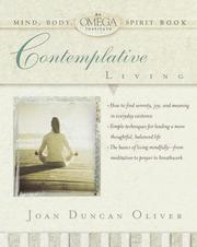 Cover of: Contemplative living