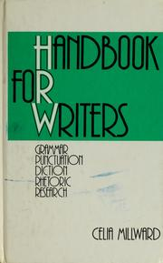 Cover of: Handbook for writers