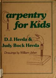 Cover of: Carpentry for kids