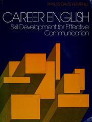 Cover of: Career English