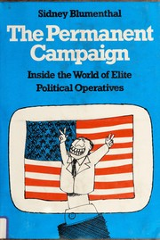 Cover of: The permanent campaign
