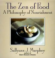 Cover of: The zen of food