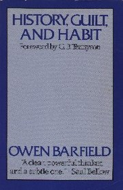 Cover of: History, guilt, and habit