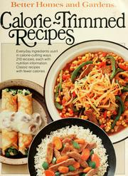 Better homes and gardens calorie-trimmed recipes