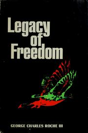 Cover of: Legacy of freedom