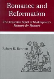 Cover of: Romance and reformation