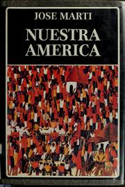 Cover of: Nuestra América